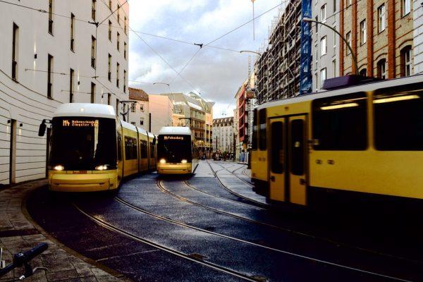 Öffentlicher Verkehr in Städten